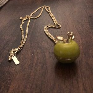 Jewelmint Apple Necklace